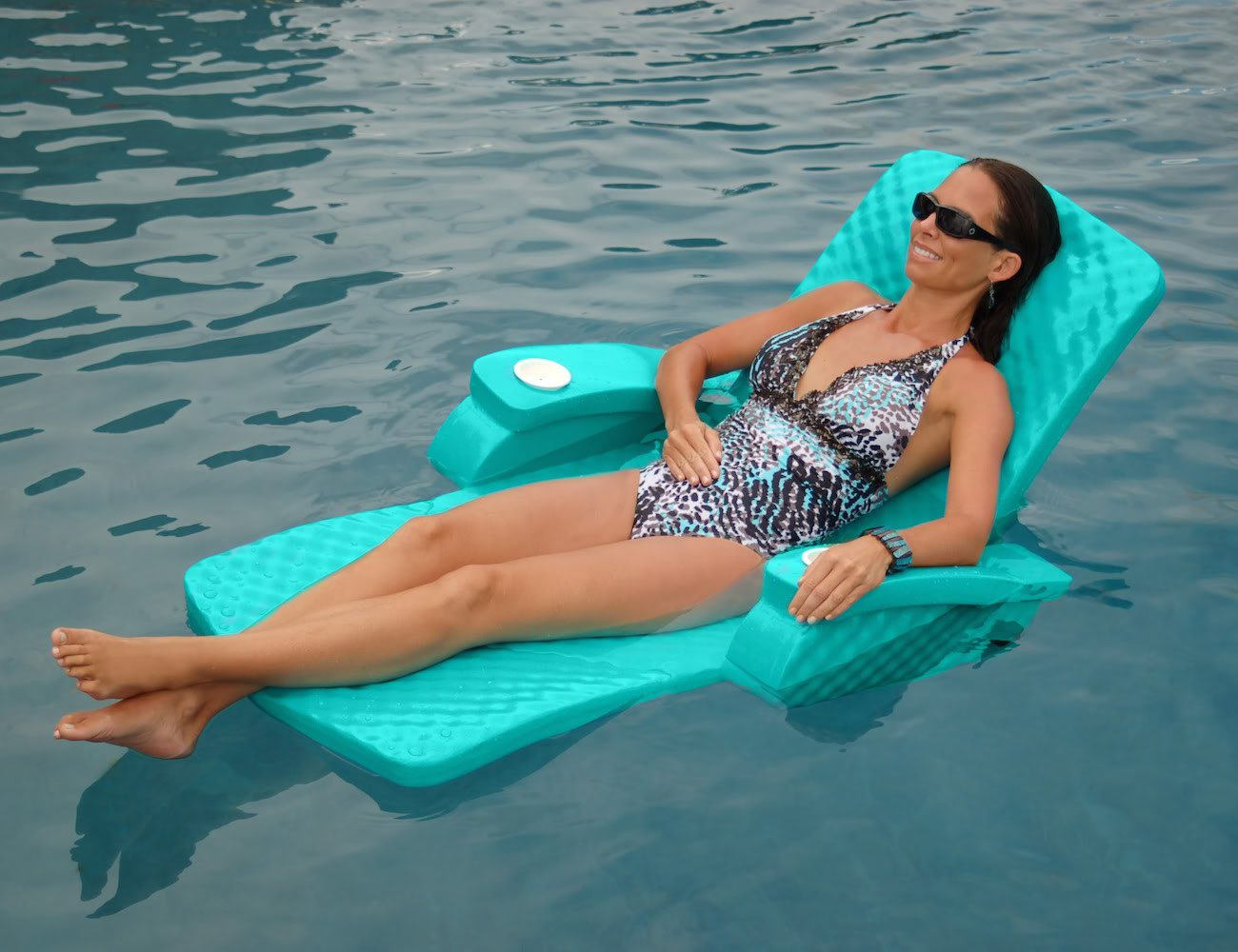 Super-soft Fully Adjustable Pool Recliner