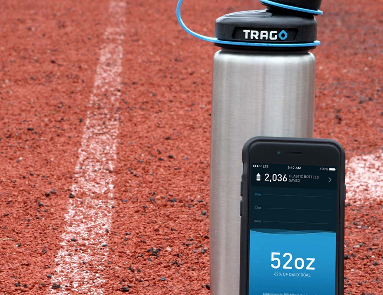 Trago – The World's First Smart Water Bottle
