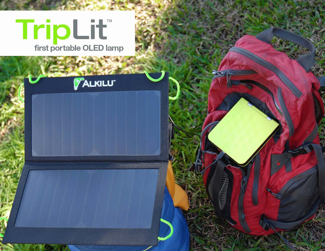 TripLit – Portable Organic LED Lamp