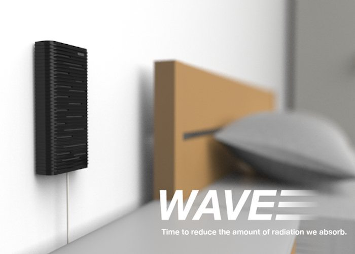 WAVE – An Enclosure That Reduces Smartphone Radiation loading=