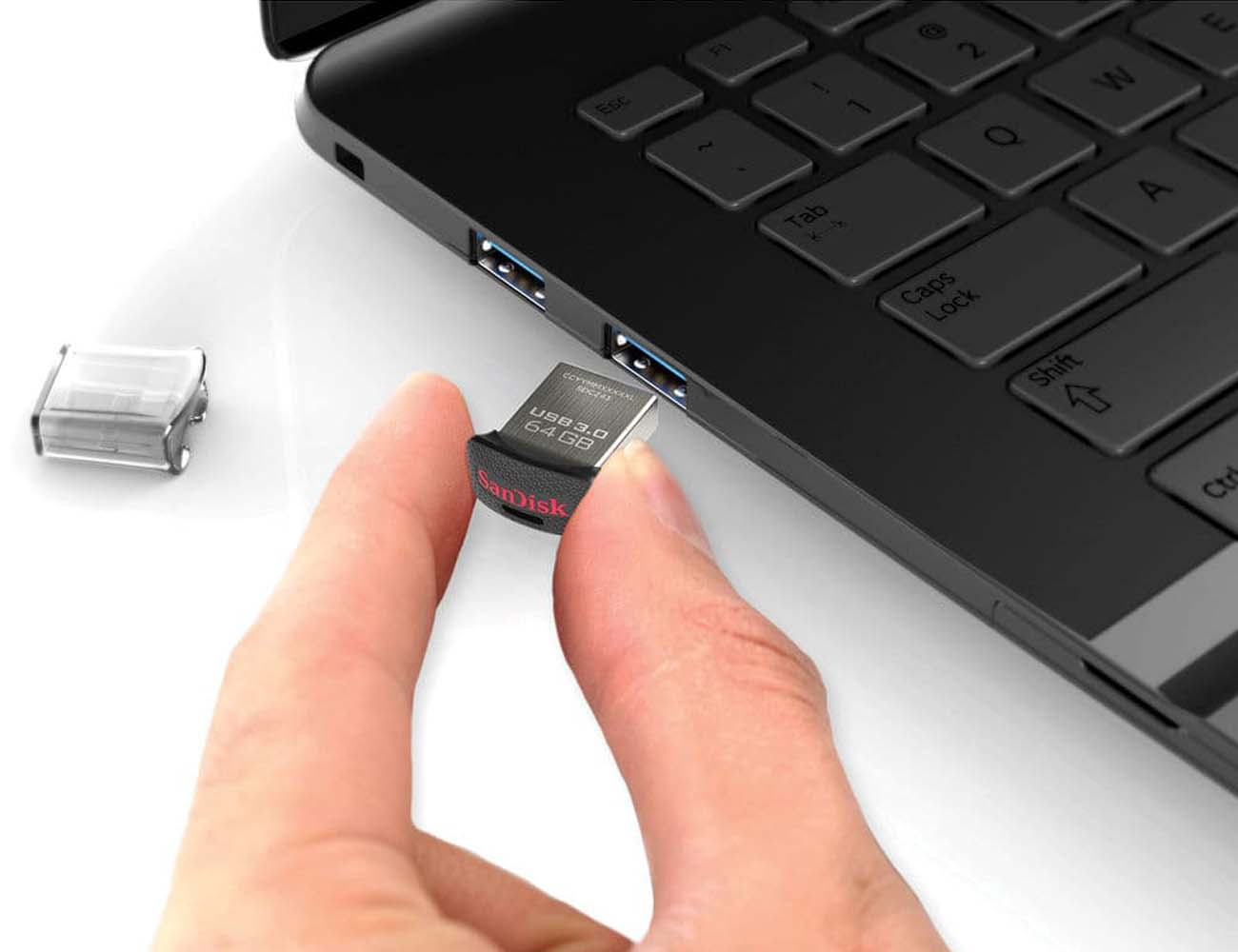 World's Smallest USB 3 Flash Drive By SanDisk