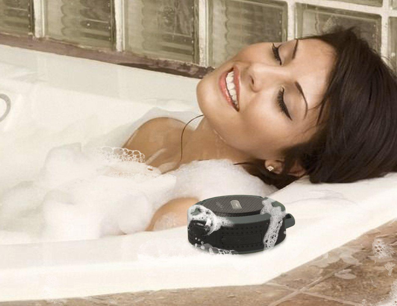 aLLreLi C6 Waterproof Wireless Bluetooth 3.0 Speaker