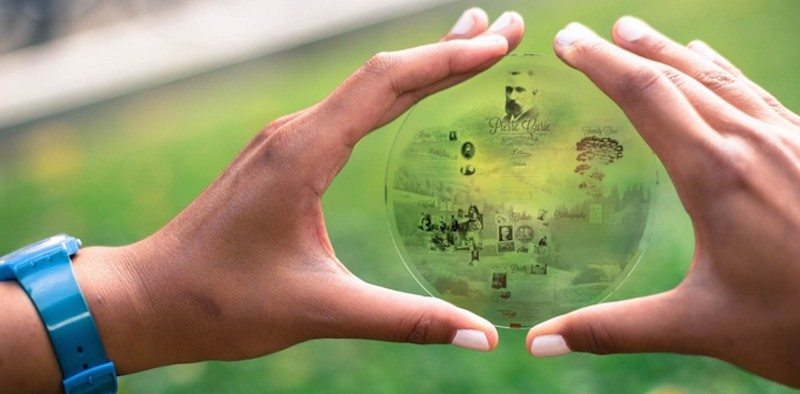 Nanoform is an Archiving Disk That Will Last for Generations