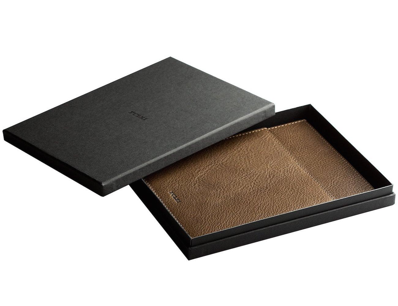 iPad Mini Leather Pocket Sleeve