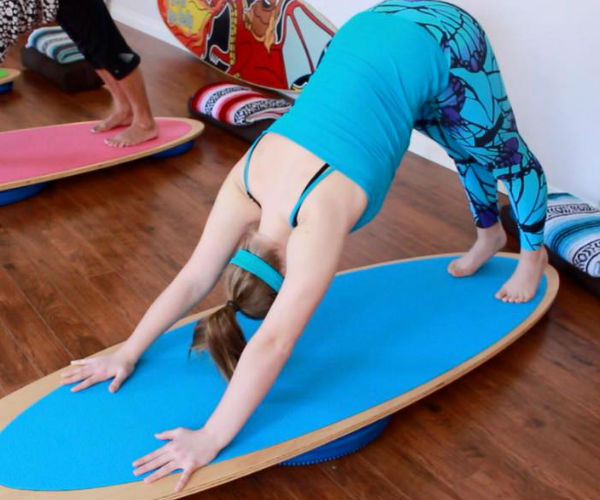 karma SUPtra – The SUP-Inspired Indoor Yoga Board!