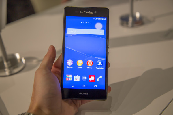 Sony Xperia Z3v Hands On Review: Improved and Verizon Exclusive