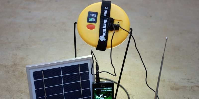Sun King Pro solar LED lamp