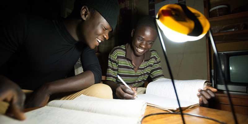 Sun King Pro solar LED lamp