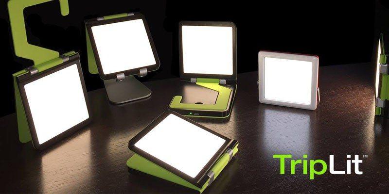 TripLit OLED lamp