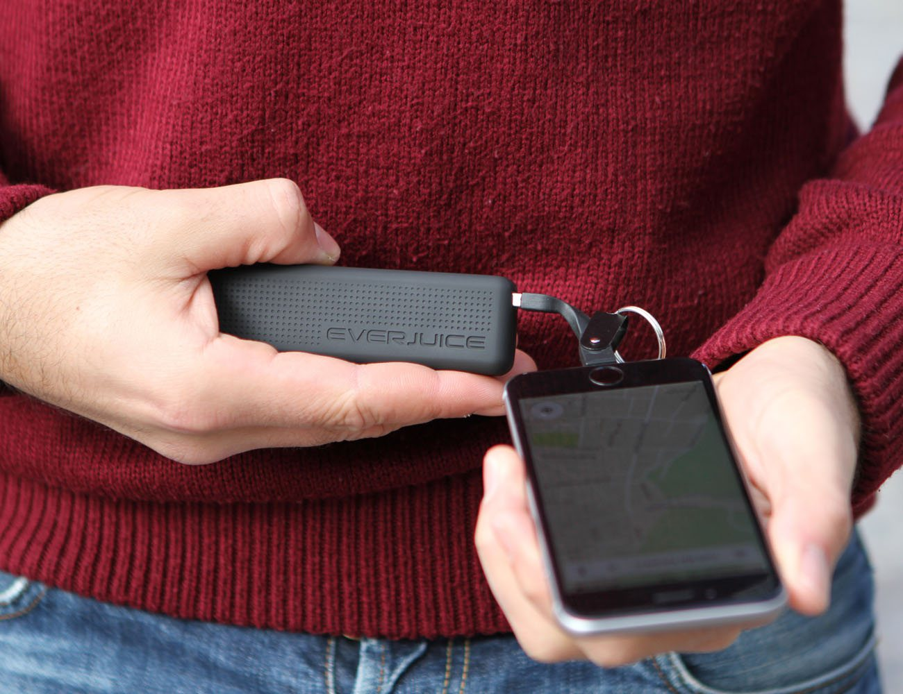 STROM -The World's Only Battery Upgrade For Your Apple Charger
