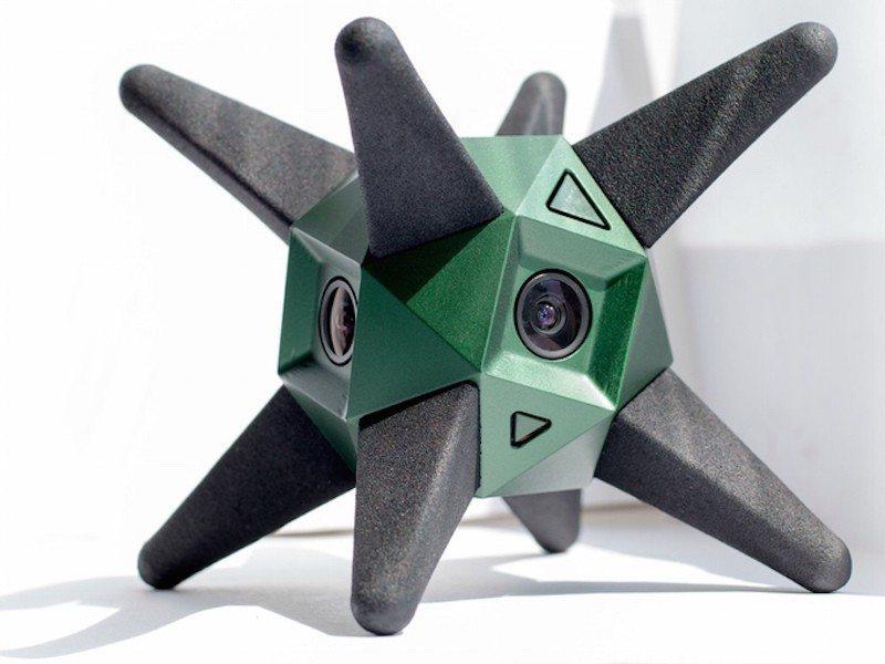 The Sphericam 2 Captures 360º Video at 60fps and 4k Resolution