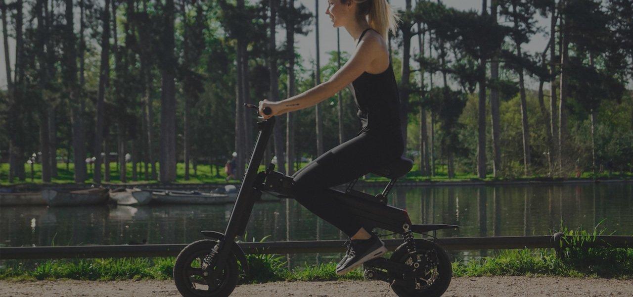 Aero Foldable Smart E-Bike Slider