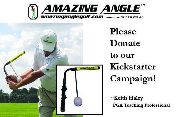Amazing Angle™ Golf Swing Training Aid