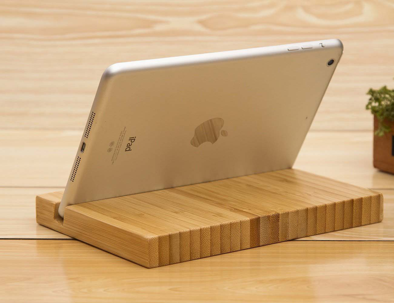 Bamboo Tablet Stand