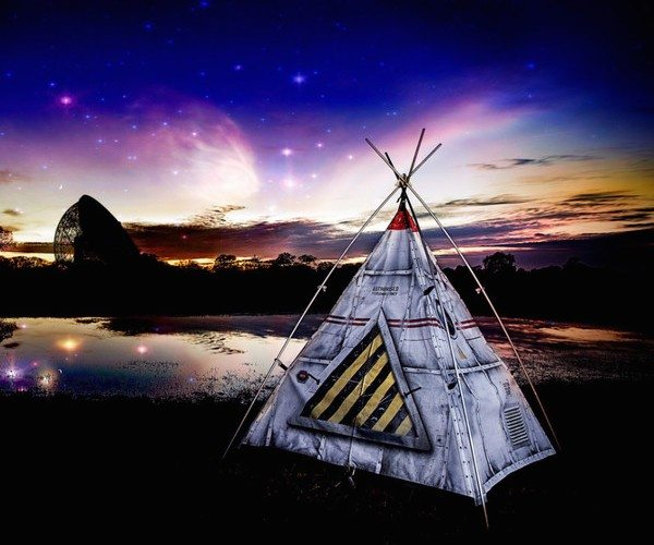 Blast Off Tent by FieldCandy
