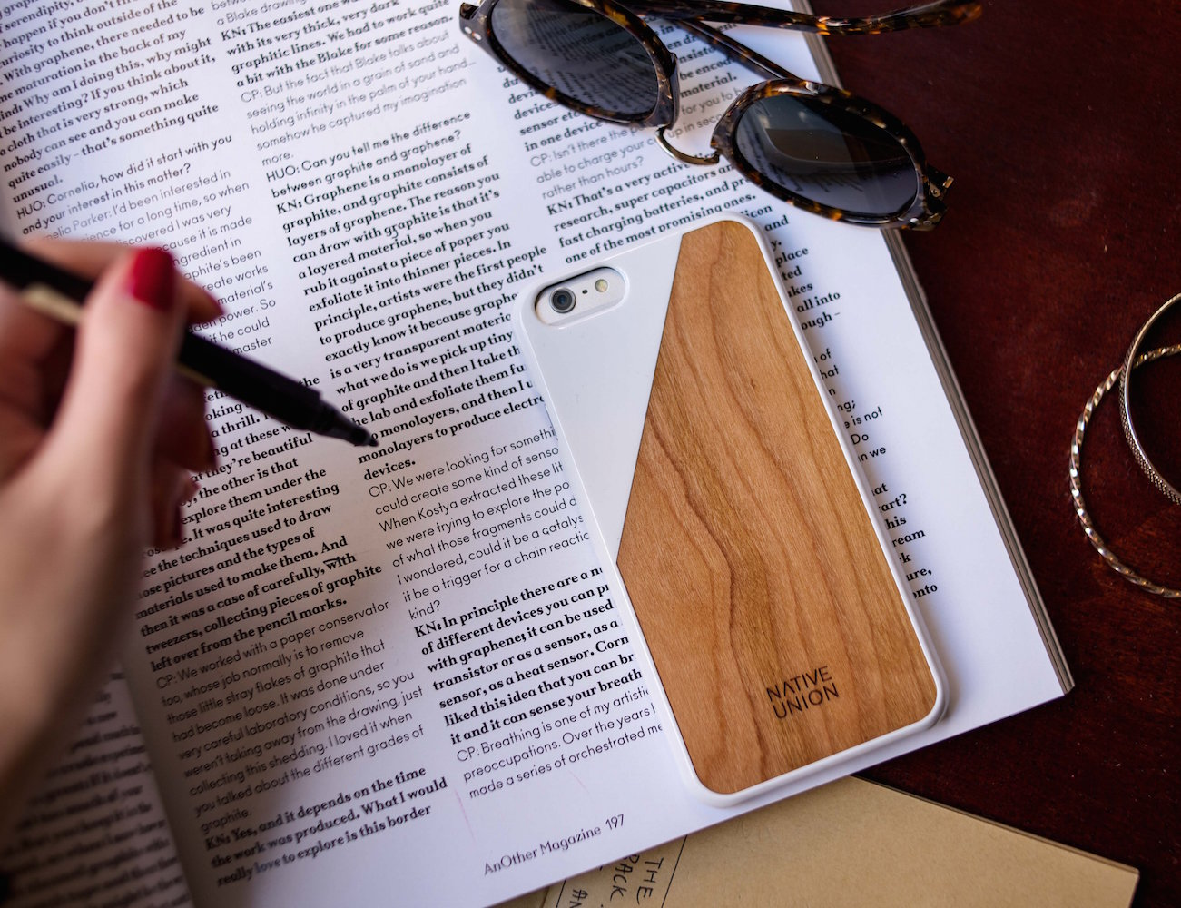 CLIC Wooden iPhone 6/6s Case