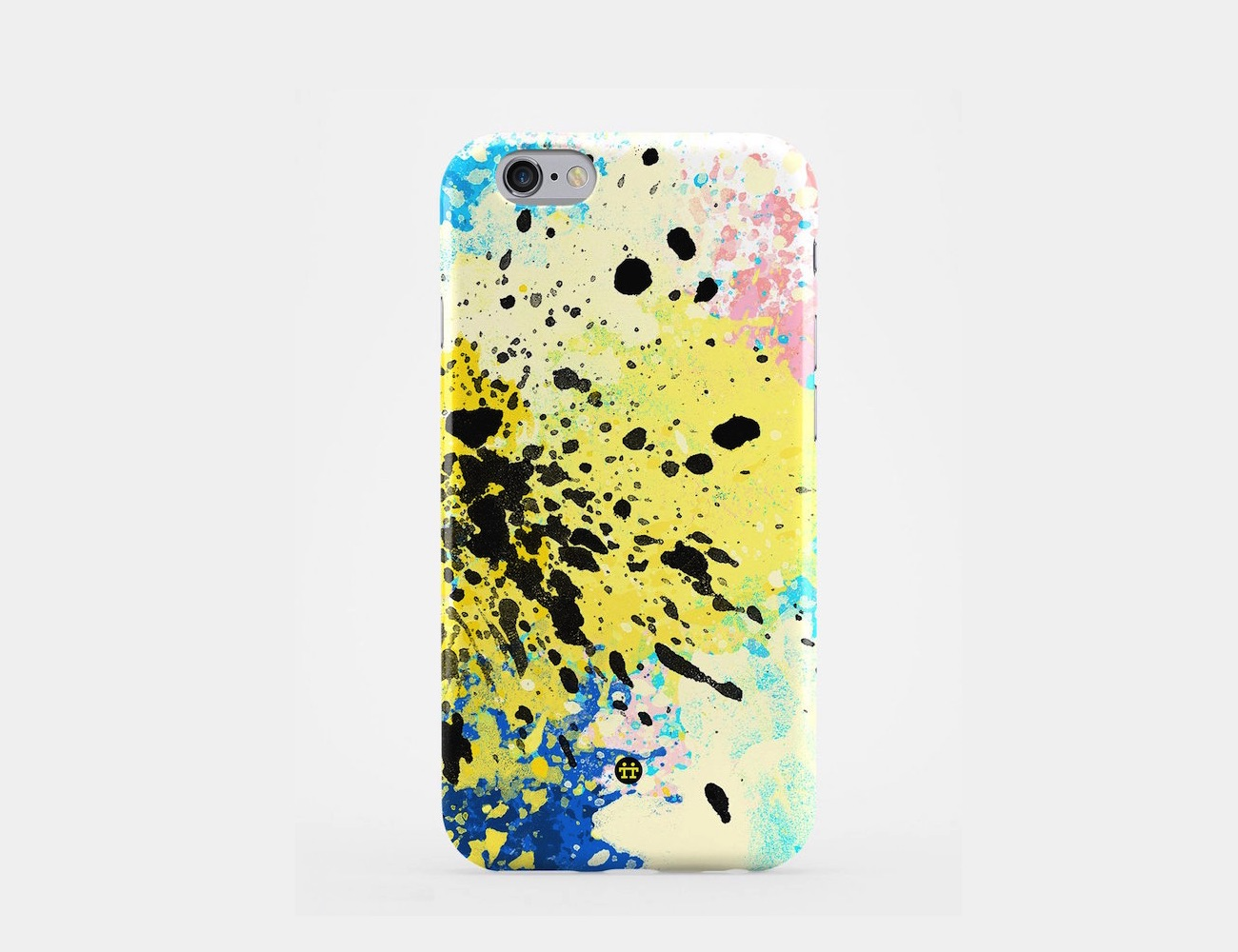 CMYK Splash Art Phone Case by Madotta