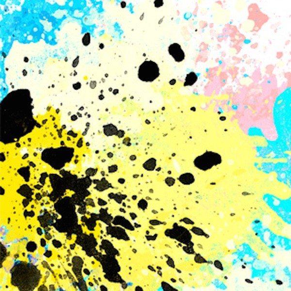 CMYK Splash Art Phone Case by Madotta