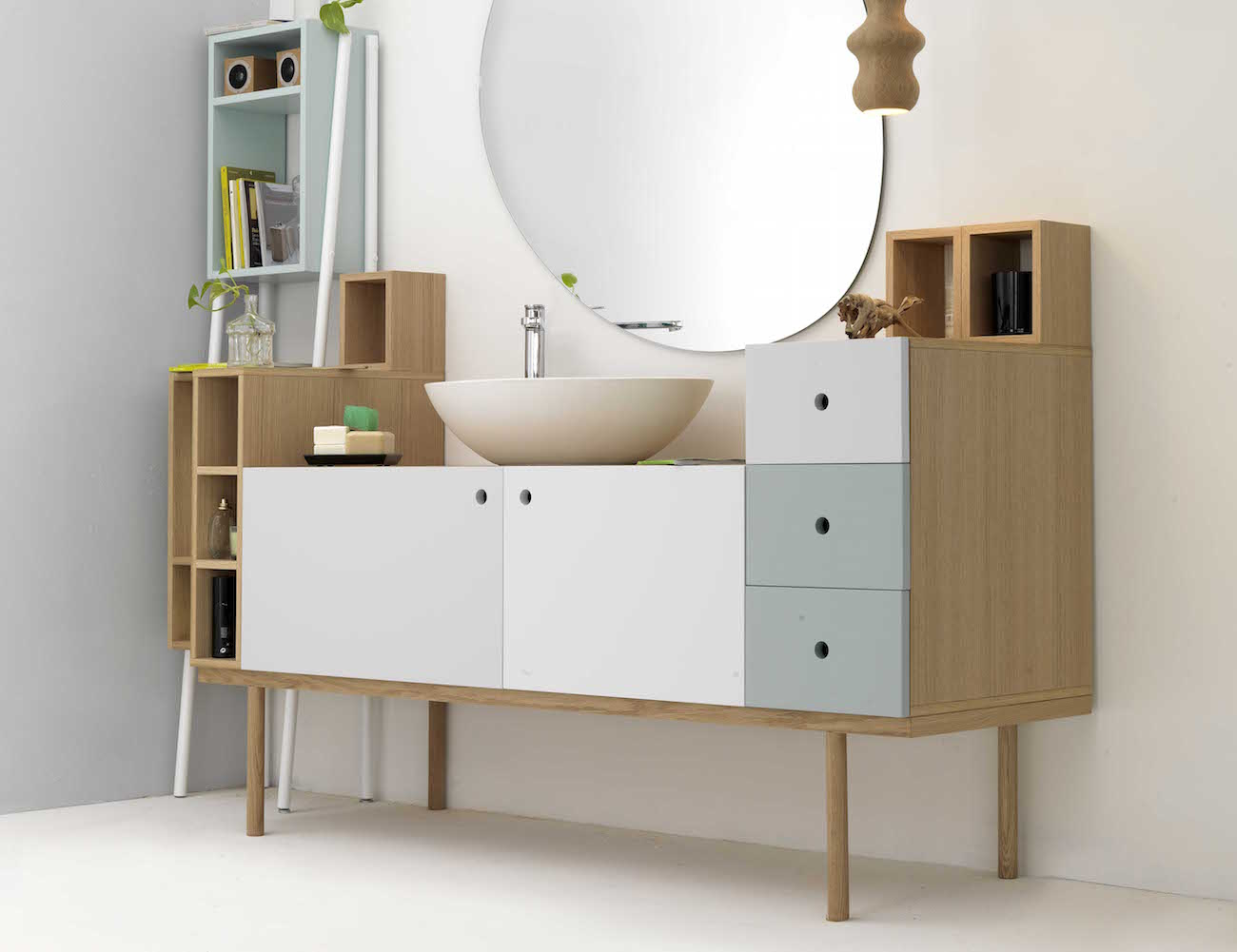 Collage Vanity Unit