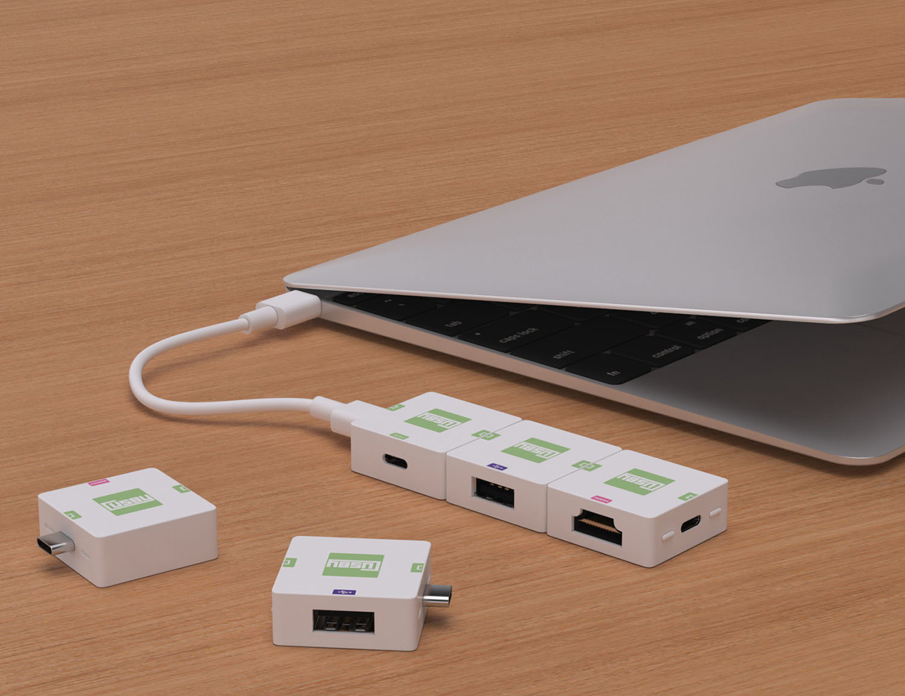 Cusby The First USB-C Modular & Expandable Solution for the New MacBook