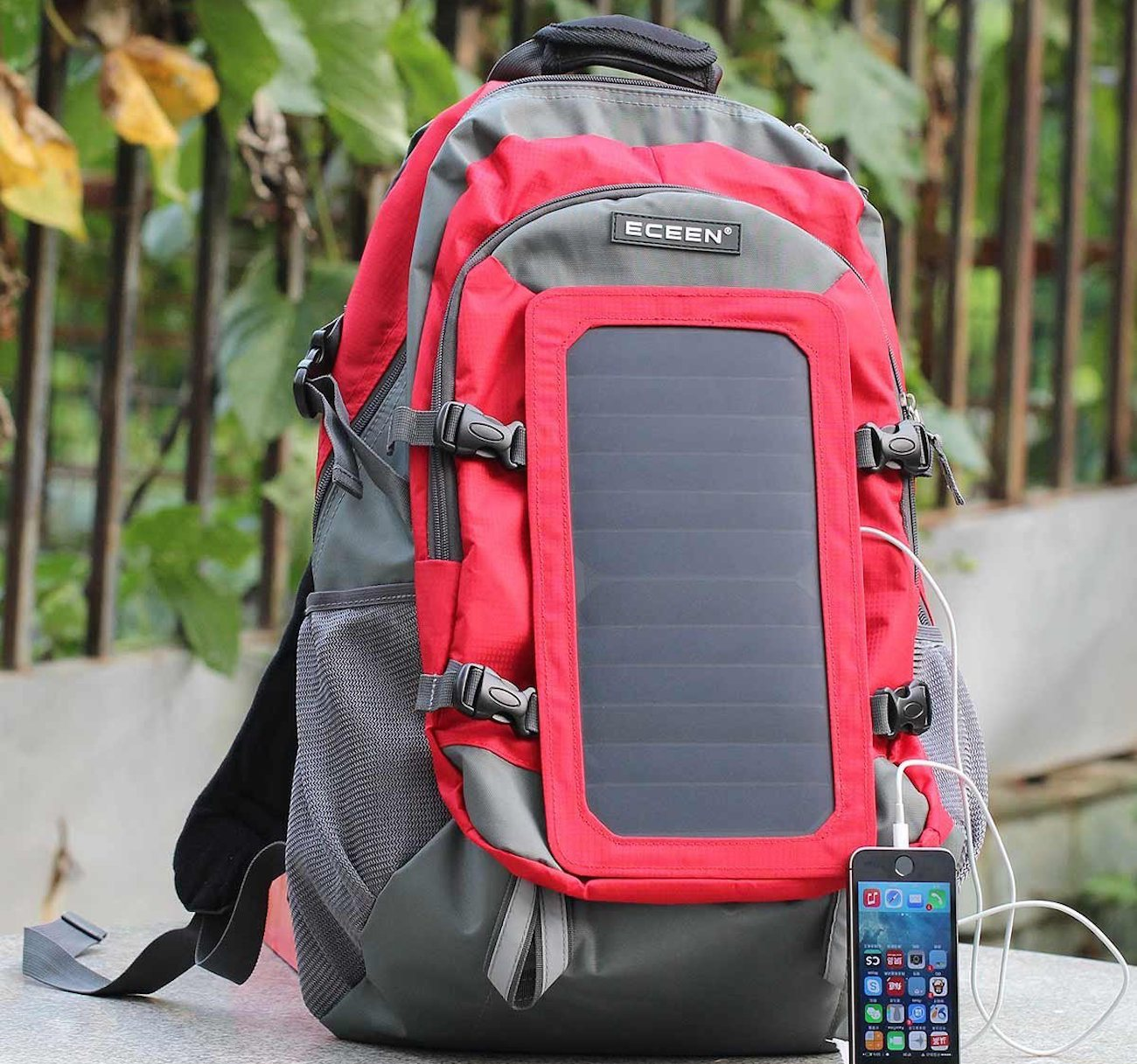 ECEEN – Solar Charger Backpack With 7 Watts Solar Panel