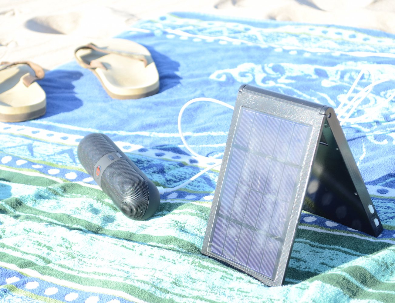 ESL: World's First Solar-Wireless Battery Charger