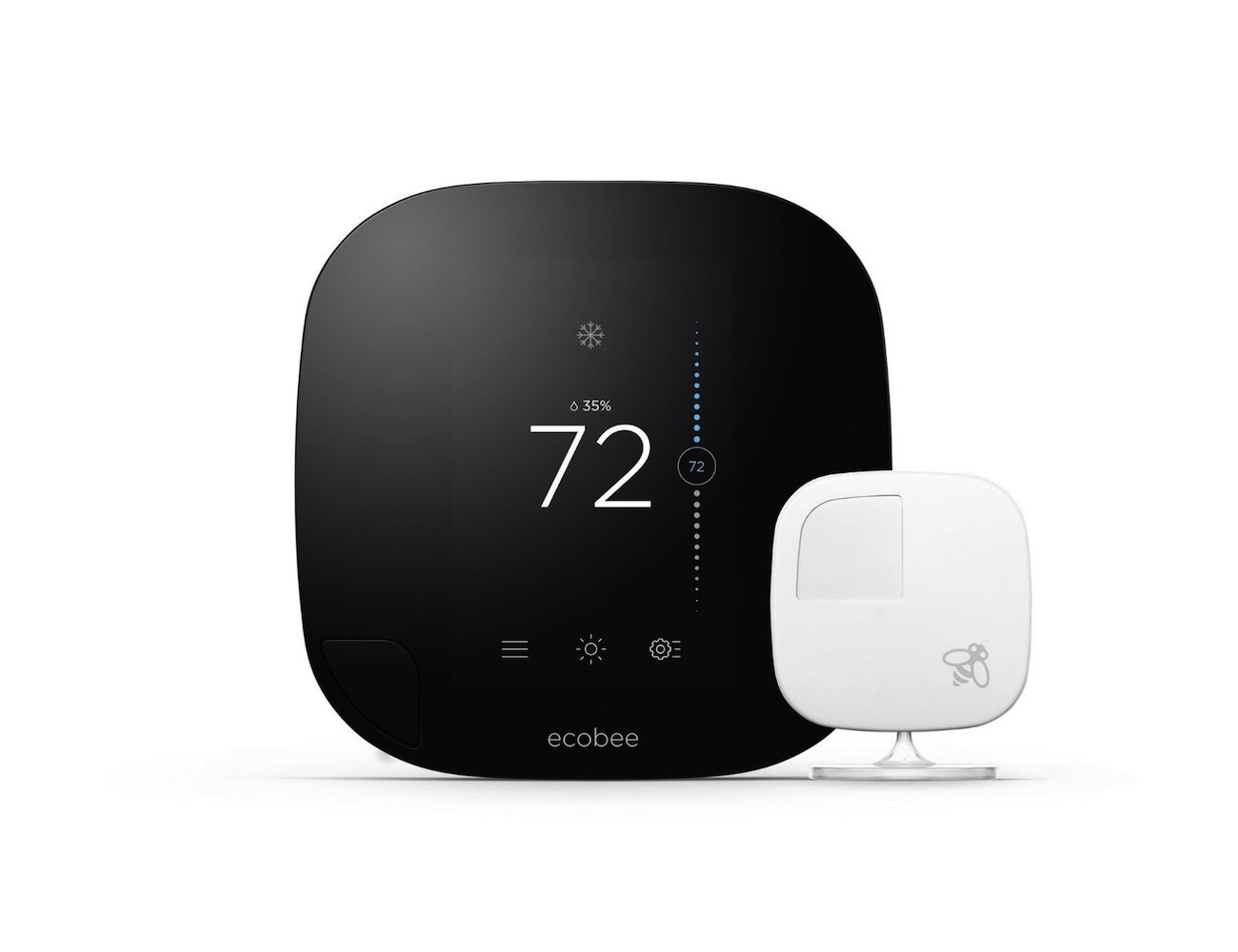 Ecobee3 – Wi-Fi Thermostat with Remote Sensor