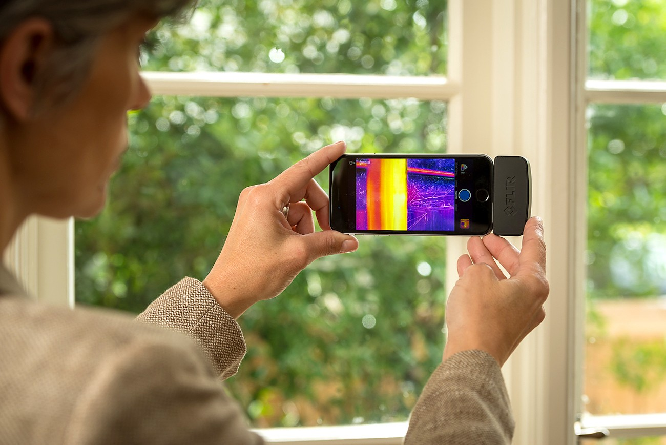 FLIR – One Thermal Imaging Equipment for iOS Devices