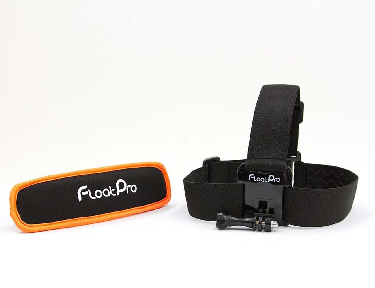 FloatPro – GoPro Head Strap Mount + Detachable Floater
