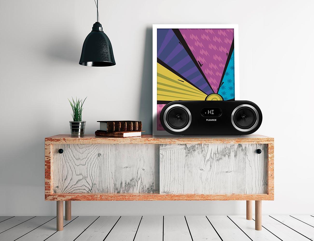 Fluance Fi50 High Performance Bluetooth Wood Speaker System