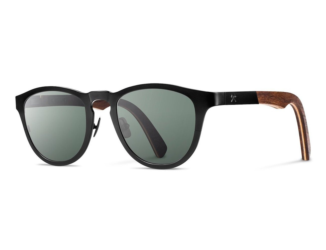 Francis Titanium Fifty-Fifty Sunglasses by Shwood
