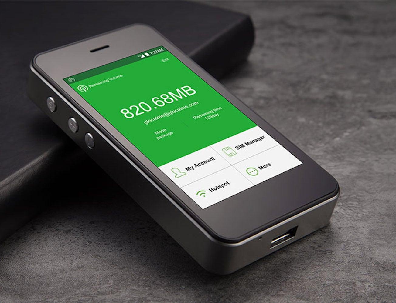 GlocalMe G3 Secure Mobile WiFi Hotspot