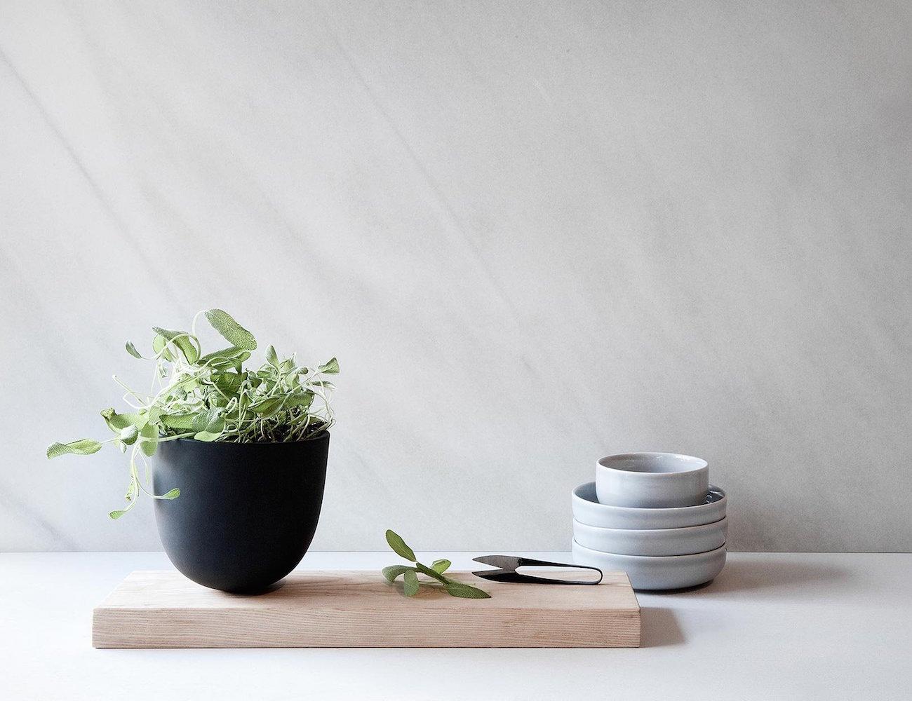 Grow Pot & Cutting Board by Menu