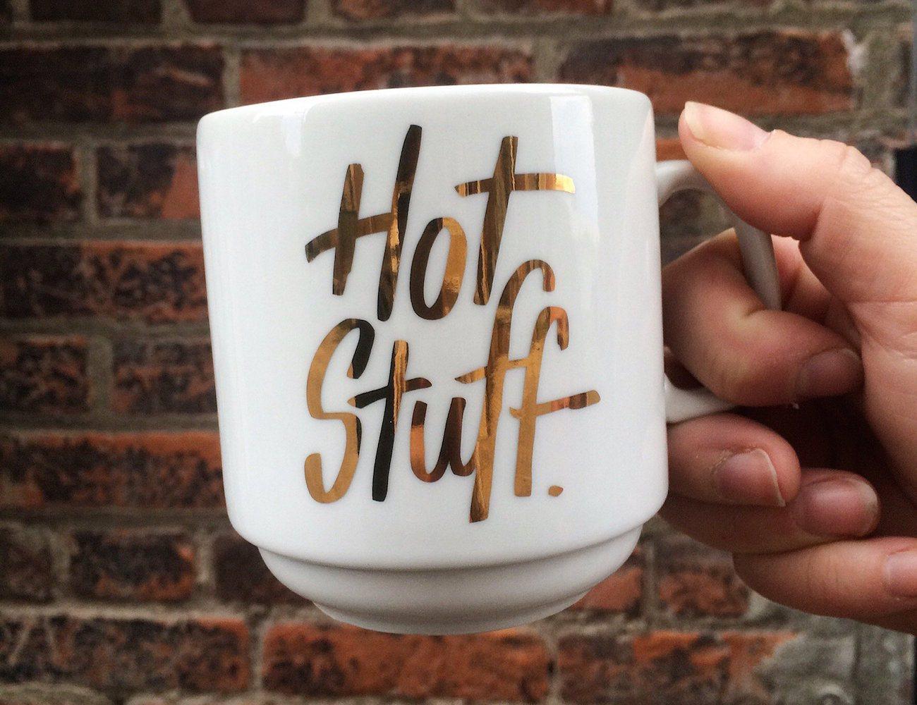 Hot Stuff Stackable Mug