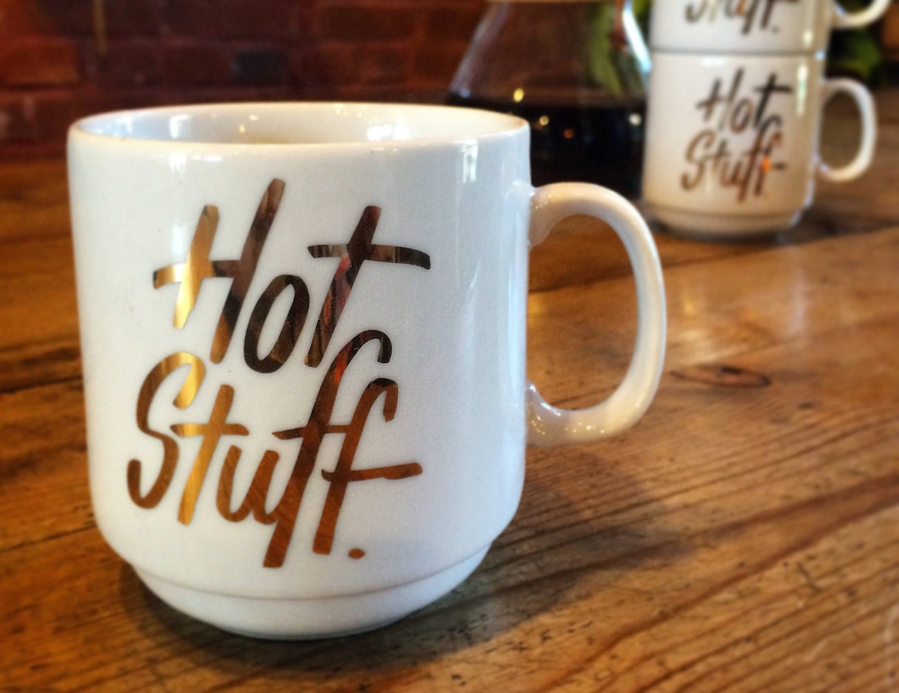 Hot Stuff Stackable Mug