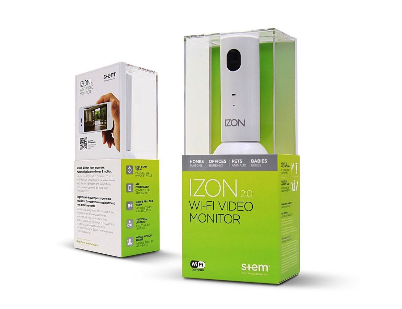 IZON Stem – Video Monitoring Smart Home Camera