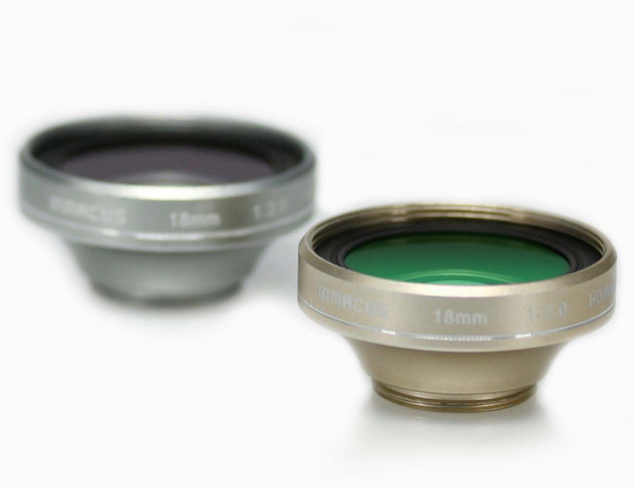 iphone lens kit. inmacus 18mm hd lens kit and macro for iphone 6/6+ iphone