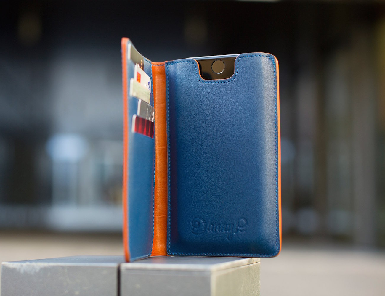 Leather iPhone 6/6s Wallet Case by Danny P.