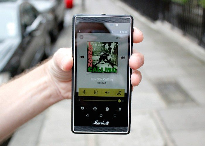 Marshall Android Phone – Created for Music Lovers