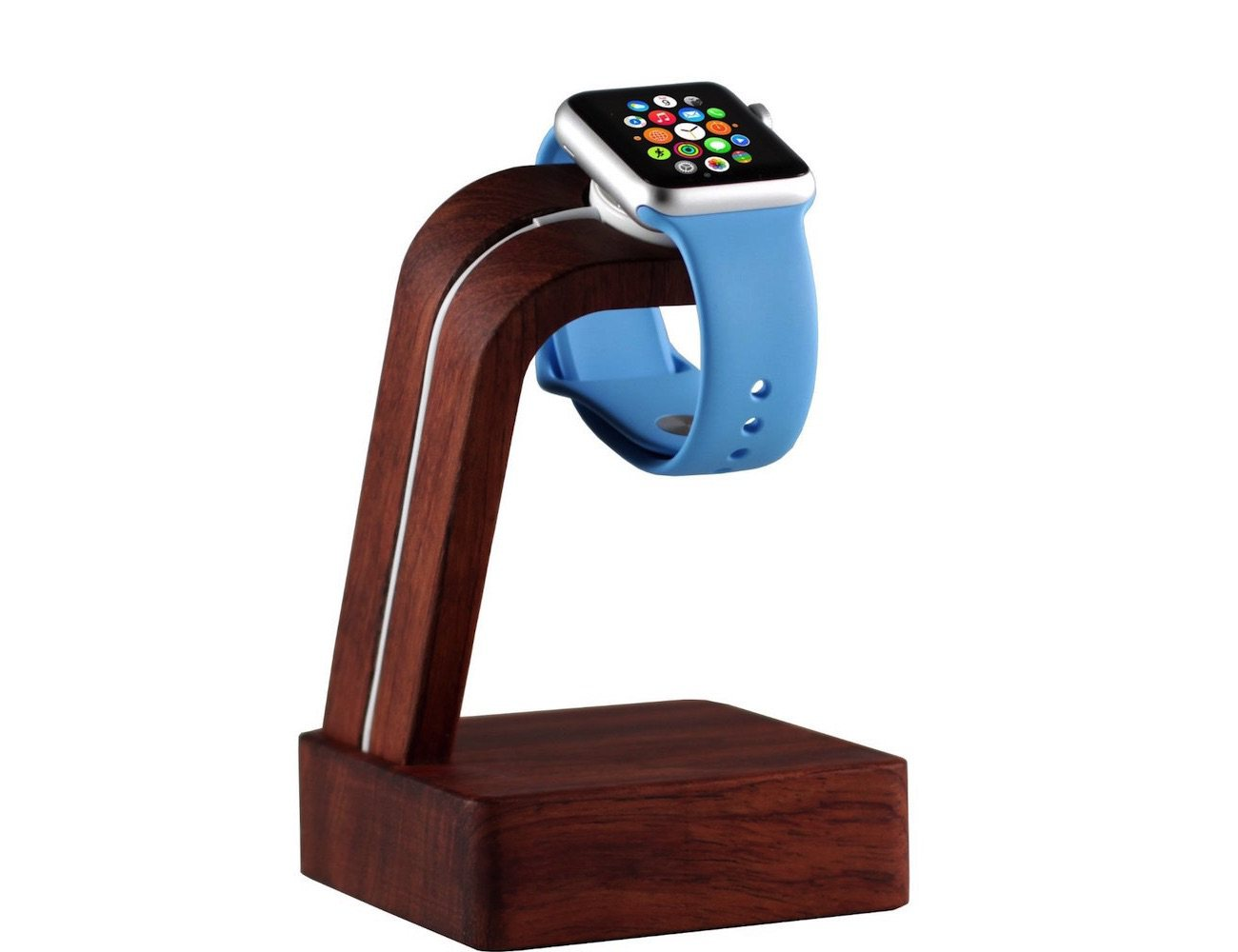Navitech – Apple Watch Wood Oak Charging Dock