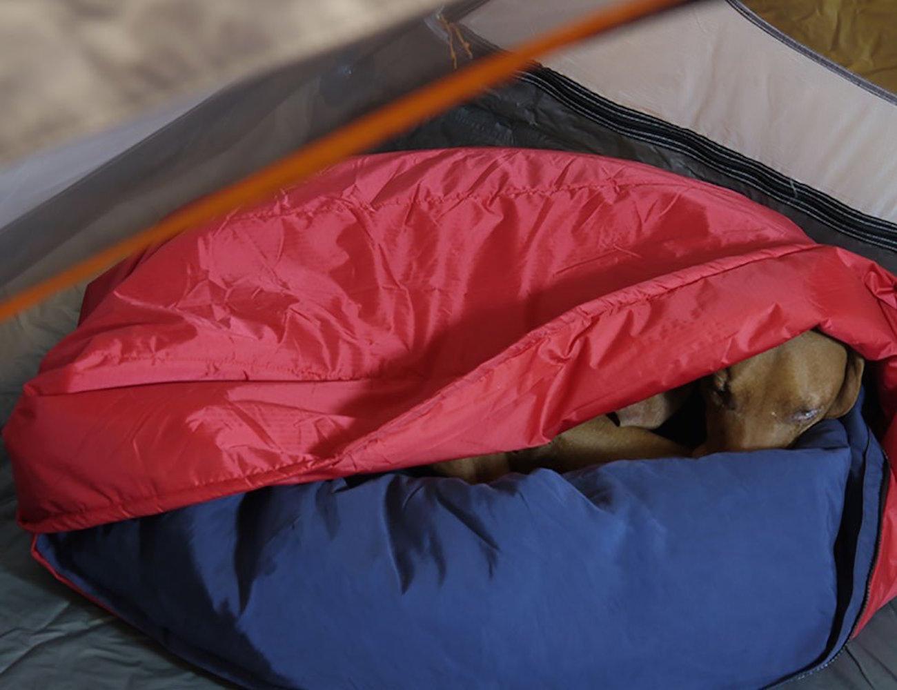 Noblecamper+2-in-1+Ultralight+Travel+Dog+Bed+And+Sleeping+Bag