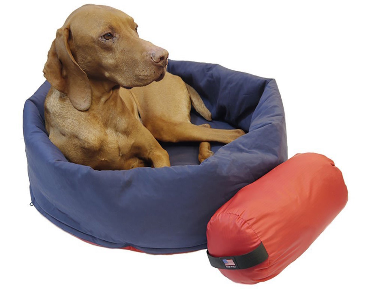 Noblecamper 2-in-1 Ultralight Travel Dog Bed and Sleeping Bag