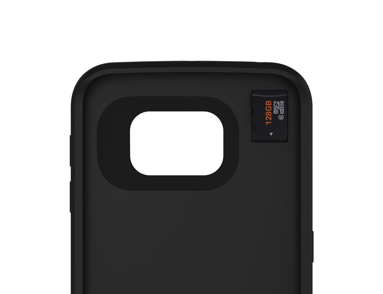 offGRID Samsung Galaxy S6 Battery Case with External Storage