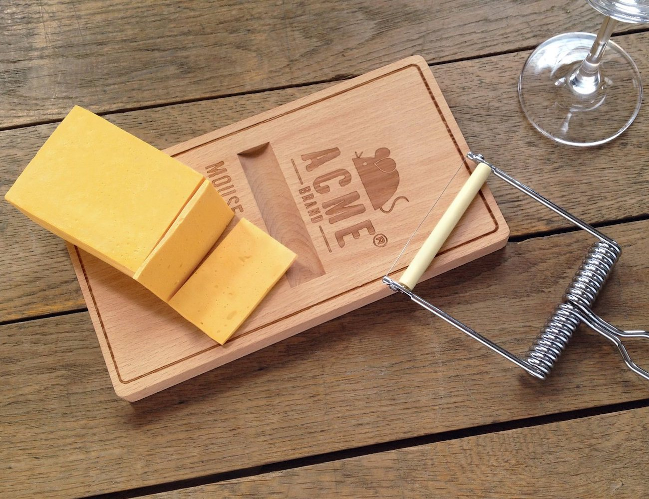 Oh Snap! Cheese Board