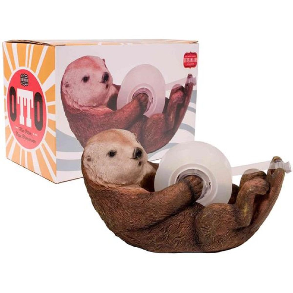 Otto The Otter Tape Dispenser