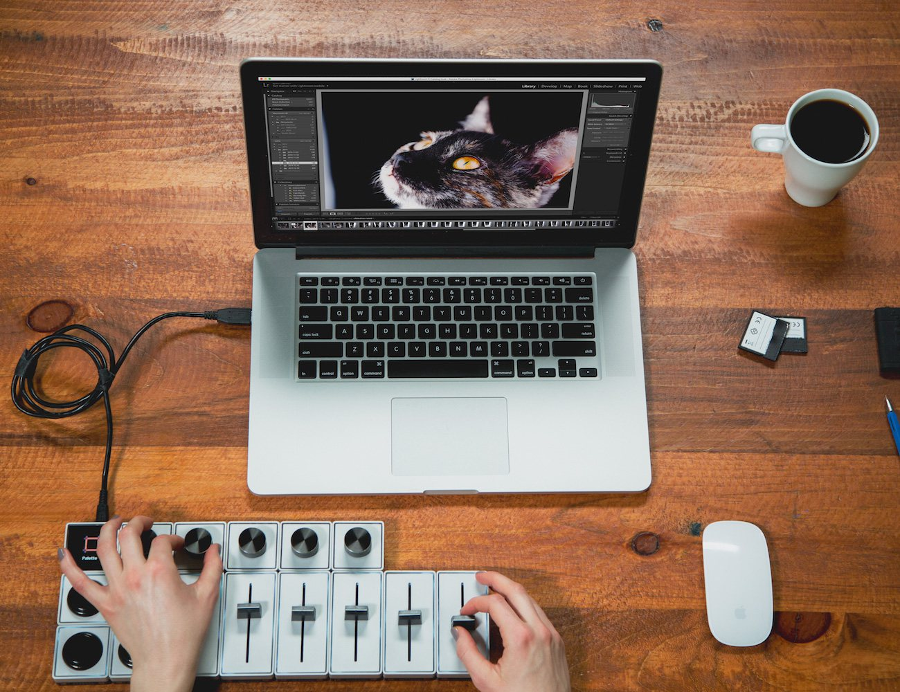 Palette – Physical Controls For a Precise Editing Experience