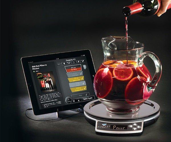 Perfect drink app controlled smart bartending review the for Perfect drink smart scale