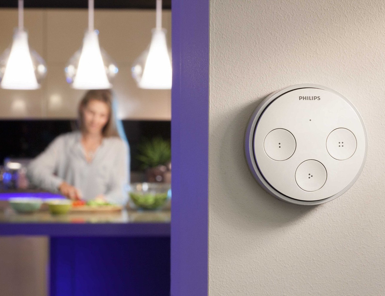 Philips Hue Tap – Easier Control of Your Wireless Lighting