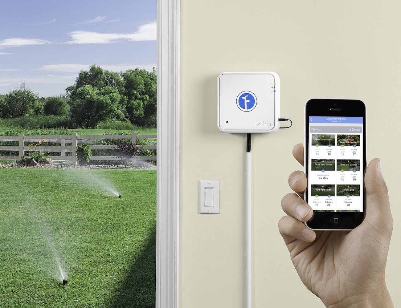 Rachio IRO – Smart Wifi Enabled Irrigation Controller