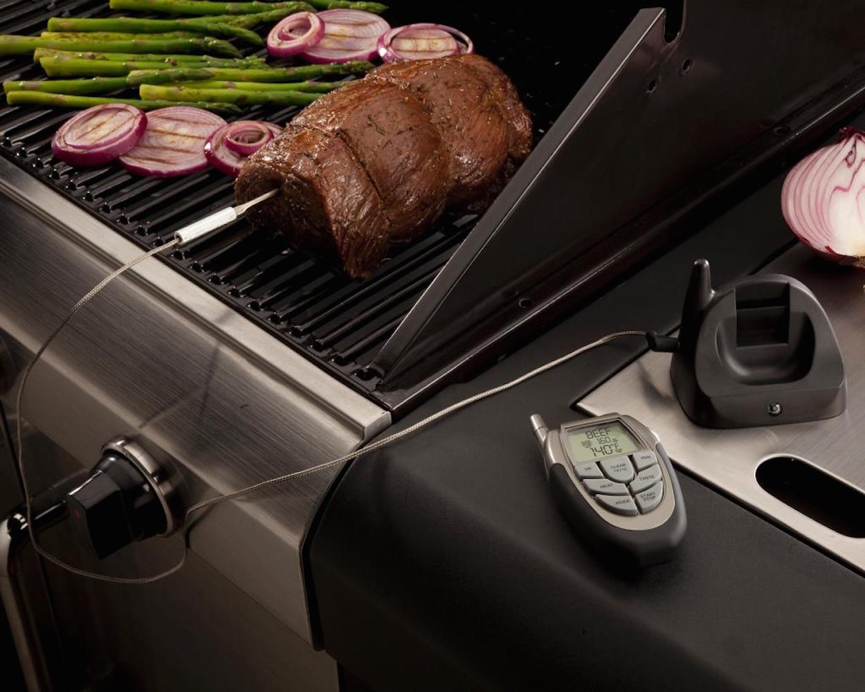 Remote+Wireless+Meat+Thermometer+With+LED+Flashlight